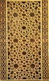 Исламское окно стиля стоковое фото
