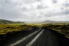 Исландский ландшафт Стоковые Изображения RF