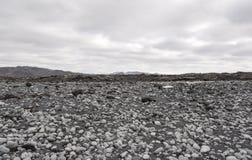 Исландский скалистый ландшафт - национальный парк Thingvellir Стоковые Фото