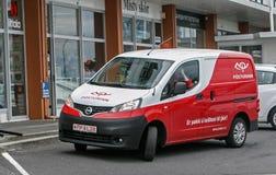 Исландский фургон почты Стоковое Изображение