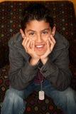 испанец мальчика Стоковая Фотография RF