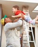 испанец семьи счастливый Стоковое Изображение RF