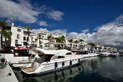 Испания, Андалусия, Марбелья, Puerto Banus Стоковые Изображения RF