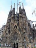 Испания, Барселона, Sagrada Familia Стоковые Изображения RF