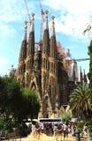 Испания Барселона Sagrada Familia Стоковые Фото