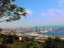 Испания, город Барселоны, порта Стоковые Фото