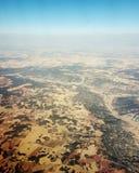 Испания сверху Стоковое Фото