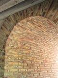 Испанская архитектура, сдобренный переходный люк стоковое фото