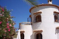 Испанская вилла Стоковое фото RF