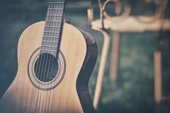 Испанская гитара Стоковые Фотографии RF