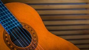 Испанская гитара стоковое изображение rf