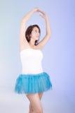 Испанская женщина в платье балетной пачки Стоковое Изображение RF