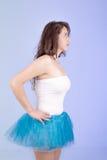 Испанская женщина в платье балетной пачки Стоковые Фото