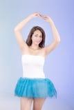 Испанская женщина в платье балетной пачки Стоковое фото RF