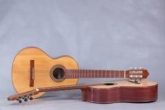 Испанская классическая гитара Стоковая Фотография RF