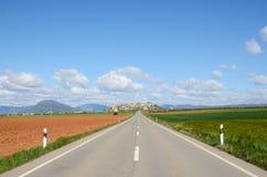 Испанская национальная дорога Стоковая Фотография RF