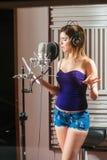 испанская певица стоковая фотография rf