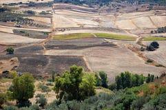Испанская сельская местность Стоковое Изображение RF