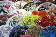 Испанские вентиляторы стоковое фото rf