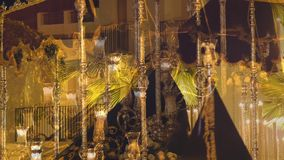 Испанские шествия святой недели, неделя пасхи (Semana Санта) акции видеоматериалы