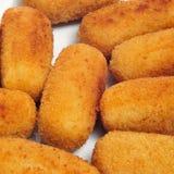 Испанские croquettes Стоковое фото RF