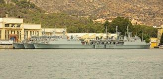 Испанский военно-морской флот, Cartagena Стоковое фото RF