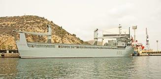 Испанский военно-морской флот, Cartagena Стоковые Изображения RF
