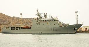 Испанский военно-морской флот, Cartagena Стоковое Фото