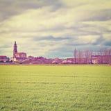 Испанский городок Стоковое Фото