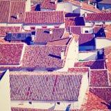 Испанский город стоковое фото