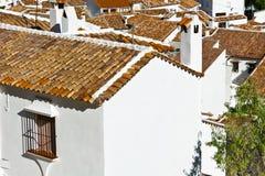 Испанский город Grazalema стоковые изображения rf