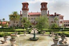 Испанский исторический строя Августин Блаженный Флорида Стоковые Изображения RF