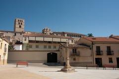 испанский квадрат стоковая фотография