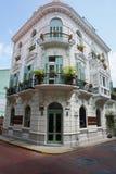 Испанский колониальный дом Casco Antiguo Панама (город) Стоковое Изображение RF