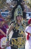 Испанский международный парад дня стоковое изображение