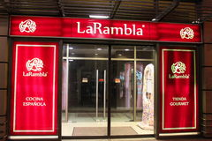 Испанский ресторан LaRambla Стоковые Фотографии RF