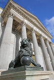 Испанский съезд депутатов. Мадрид стоковые изображения