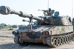 Испанский танк морских пехотинцов Стоковые Фотографии RF