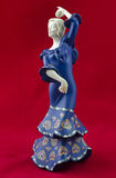 Испанский танцор фламенко Стоковое Фото