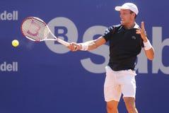 Испанский теннисист Роберто Bautista Agut Стоковые Фото