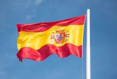 Испанский флаг Стоковая Фотография