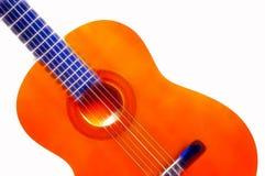 испанский язык гитары Стоковое Фото