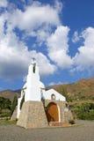 испанский язык гор католической церкви малый Стоковые Фото