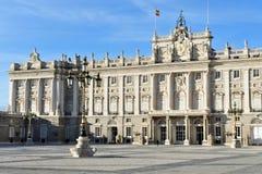 испанский язык Испании дворца madrid королевский Стоковая Фотография