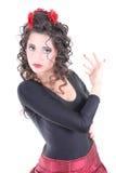 испанский язык портрета танцора стоковые фотографии rf