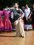 испанский язык танцора драматический Стоковое Фото
