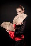 испанский язык танцора Стоковая Фотография