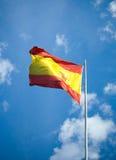 испанский язык флага Стоковые Изображения