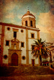 испанский язык церков старый Стоковое Фото