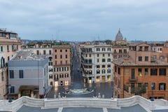 Испанский язык шагает Рим, Италия стоковые фото